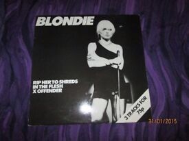 RARE 80S BLONDIE RIP HER TO SHREDS 12 INCH SINGLE have other Blondie for sale