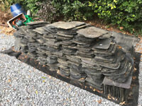 "Second Hand Scotch Slate (approx 300) 14"" x 8"""