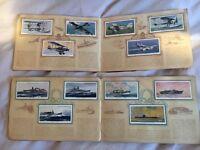 5 albums of vintage cigarette cards