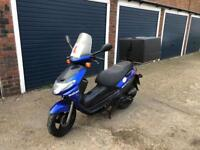 Suzuki 125cc moped scooter vespa honda piaggio yamaha gilera peugeot