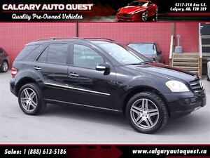 2007 Mercedes-Benz M-Class ML350 AWD/NAVIGATION/LEATHER/SUNROOF