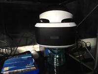PS4 vr head set bundle