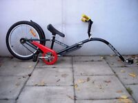 Kids Tag Along Bike, Black, by Hitch Hiker, Easy Fit, Great Fun, JUST SERVICED / CHEAP PRICE!!!!!!!
