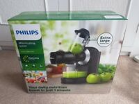 PHILIPS MASTICATING JUICER HR1889, Brand new!!