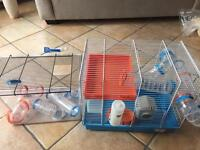 1 Hampster cage and burrowing cage