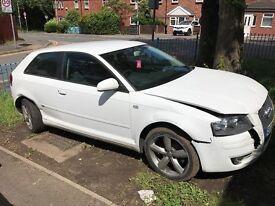 Selling my 2008 (08) Audi A3 1.9 Tdi in Genuine White Damaged