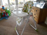 Mothercare Owls Baby Highchair