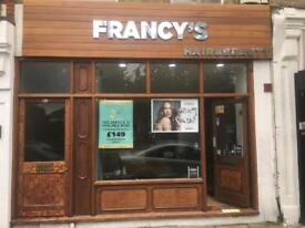 Chair to rent on Francy's Hair and Beauty