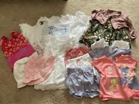 Baby girl 6-9 month summer clothes bundle