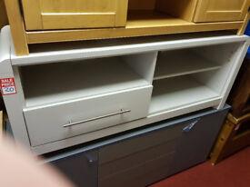 Devon 1 drawer tv unit - Grey