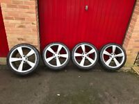 """Genuine Audi Rotor 20"""" Alloy Wheels with Michelin Tyres"""