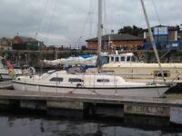 Yacht: Scandinavian 32 Sailing boat