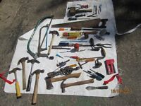 tools/job lot/miscellaneous 2 photos collect from bromley kent