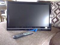 """21"""" widescreen flat screen TV/DVD"""