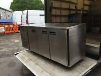 Commercial bench counter pizza fridge for shop pizza meat jshsh