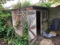 Shed 6x8 feet dismantled