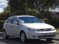 Chevrolet Lacetti 1.6 SX 5dr£799 p/x welcome AUTOMATIC,FULL SERVIC,LONG MOT 2007 (07 reg), Hatchbac