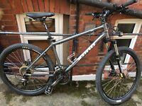 """Mountain bike - Kona Lanai in good condition, 26"""" wheels, disc brakes w/ extras"""