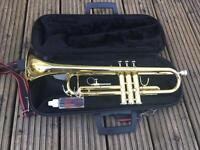 JUPITER TRUMPET W/ CLEANING SET + CASE