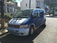2001 Mercedes Benz Vito Van - MOTtill Dec- Needs TLC