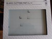 Glass Cutting Mat, never used.