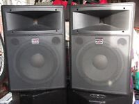DAS Audio DS12 Pro pa speakers. 300w. Compact, powerful ,quality sound. PRICE LOWERED!!