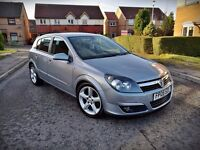 2005 ASTRA SRI CDTI...1.7 DIESEL...OVER 55 MPG...LOW MILEAGE...FSH...3 OWNERS...MINT CAR