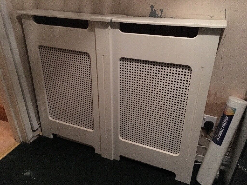 White radiator cover for sale