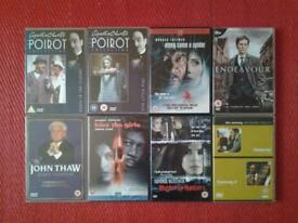 8 MURDER AND CRIME DVD'S (2 LOTS)