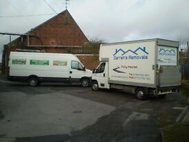 MAN AND VAN HUDDERSFIELD BASED COVERING ALL WEST YORKSHIRE FULLY INSURED ESTABLISHED 21 YRS