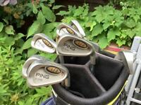 Golf Clubs / Ping i3 O-size / 456789W / New Grips