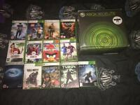 Xbox 360 Elite with 13 Games