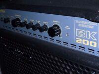 Hughes & Kettner Basskick Series BK200 Bass Amp made in Germany