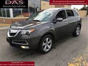 2011 Acura MDX Technology Package Navigation/Sunroof