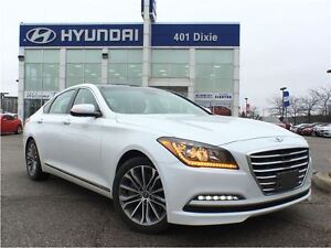 2016 Hyundai Genesis 3.8 PREM AWD|NAVI|BACK-UP CAM|HEATED SEATS|
