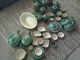 BOURNE POTTERY LARGE COLLECTION ...EPIC