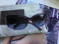 MARC JACOBS SUNGLASSES BLUE LADIES WOMANS GREY BLUE PURPLE OMBRE Small Frame