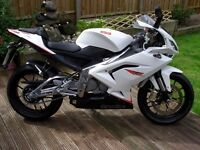 Aprilia RS 125 Learner Legal, only 107 miles on the clock, AS NEW