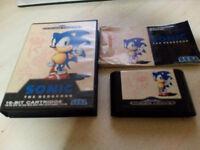 Sonic the Hedgehog, Sega Mega Drive Game.