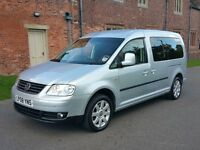 2008 VOLKSWAGEN CADDY MAXI LIFE 1.9 TDI 7 SEATER MINIBUS GENUINE LOW MILEAGE 94000 TRANSPORTER VIANO