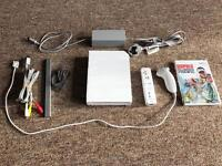 Nintendo Wii Console + 1 game