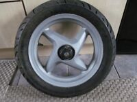 MBK STUNT SCOOTER FRONT WHEEL AND VERY GOOD TYRE