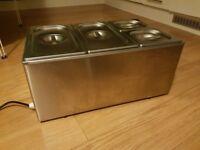 Commercial Food Warmer Bains Marie Buffalo S047