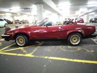 Triumph Tr7/Tr8 3.5 v8 convertible