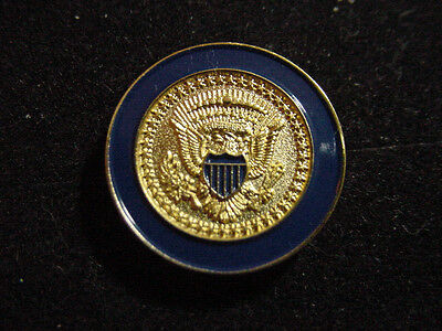 Presidential George W Bush  Coat Of Arms  Lapel Pin