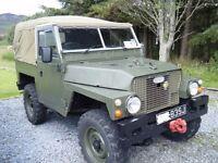 Land Rover 1971 Lightweight SWAP for Diesel SIII