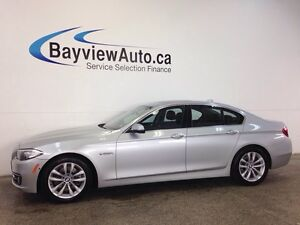 2016 BMW 528i XDRIVE- AWD! TWIN PWR TURBO!LEATHER! NAVI! ROOF!