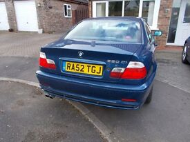 bmw 3 series 320i in metalic blue