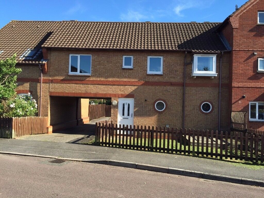 YATE 2 BED COACH HOUSE FLAT GARDEN PART FURNISHED £750