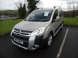 Citroen Berlingo Wheelchair Accessible WAV - 12 Month Warranty
